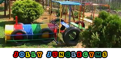Jolly jungle gyms