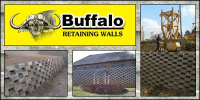 Buffalo Retaining Walls Cape Town
