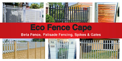 Eco Fence Cape Town Gates