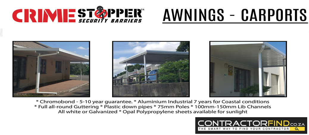 Awnings Gauteng Retractable Adjustable Awnings All