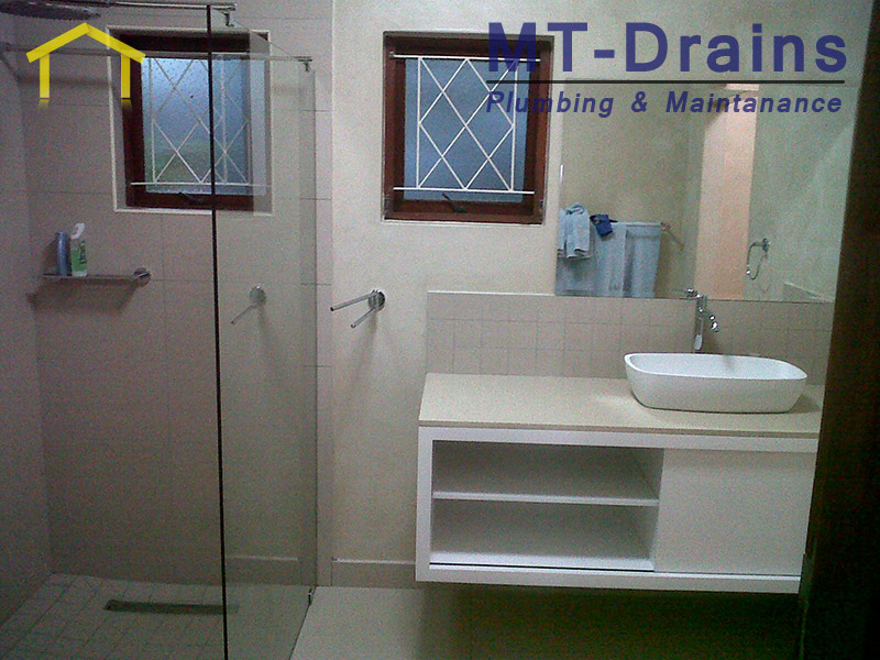 ... Workmanship For All Your Plumbing Requirements, Bathroom Renovations,  Geysers, Drainage, Tiling Etc. MT Drains Places High Value On Client  Satisfaction, ...