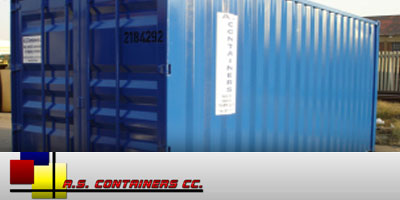 AS Containers cc Eastrand