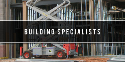 Building specialists