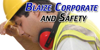 Blaize Corporate and Safety