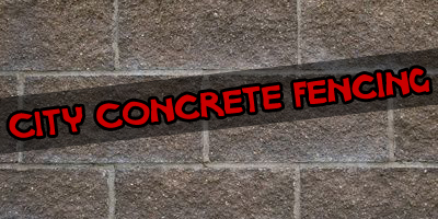 City Concrete Fencing
