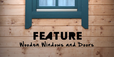Feature Wooden Windows and Doors