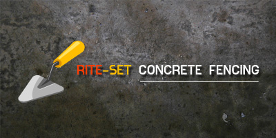 Rite-Set Concrete Fencing