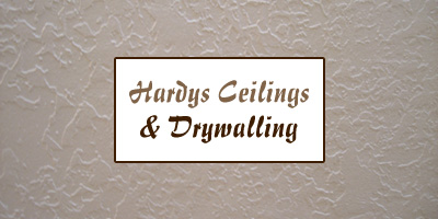 Hardys ceilings and drywalling