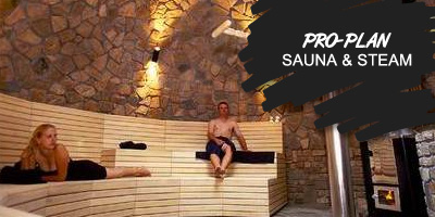 PRO-PLAN SAUNA & STEAM