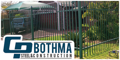 CP Bothma Steelworks & Construction Palisade Fencing