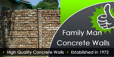 Family Man Concrete Walls