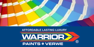 Warrior Paints advert