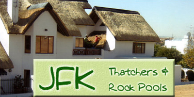JFK Thatching, cladding & paving