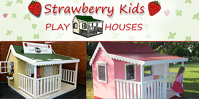 Strawberry Kids Play Houses